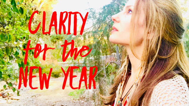 Clarity for the New Year